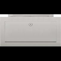 Formani Square LSQ390 inbouwbrievenbus mat RVS