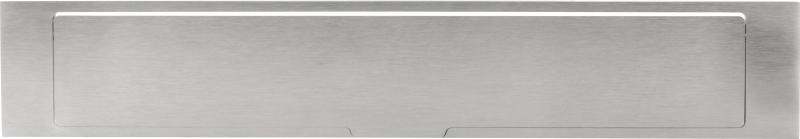 Formani Square LSQ380 briefplaat buiten massief RVS