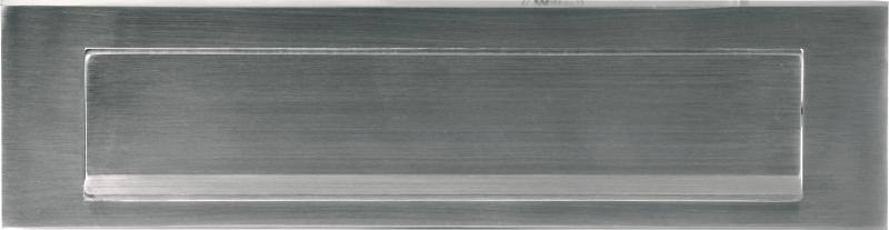 Formani Timeless F535 briefplaat recht PVD glans nikkel