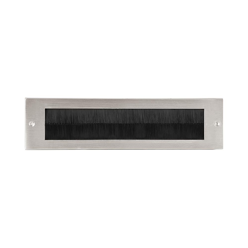 Formani Timeless F535BI briefplaat binnen (tochtborstel) mat nikkel