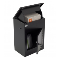 Pakketbrievenbus Logixbox Multibox-S zwart