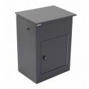 Pakketbrievenbus Logixbox Multibox-M grijs