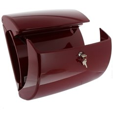 Burg-Wächter Piano kunststof brievenbus - merlot