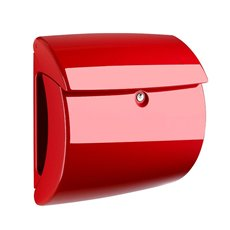 Burg-Wächter Piano kunststof brievenbus - rood