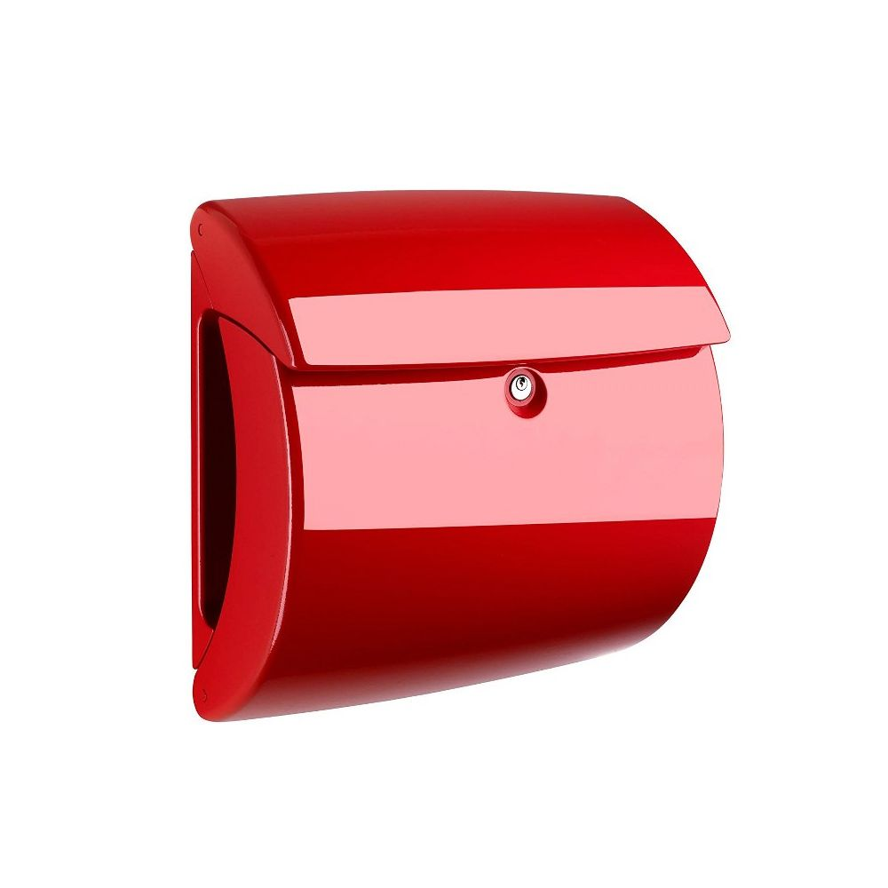 Burg-W�chter Piano kunststof brievenbus - rood