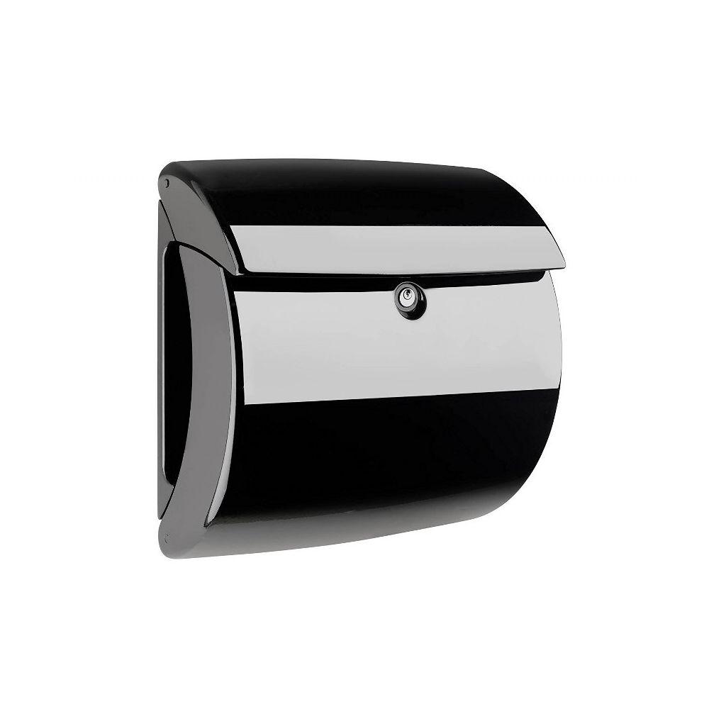 Burg-Wächter Piano kunststof brievenbus - zwart