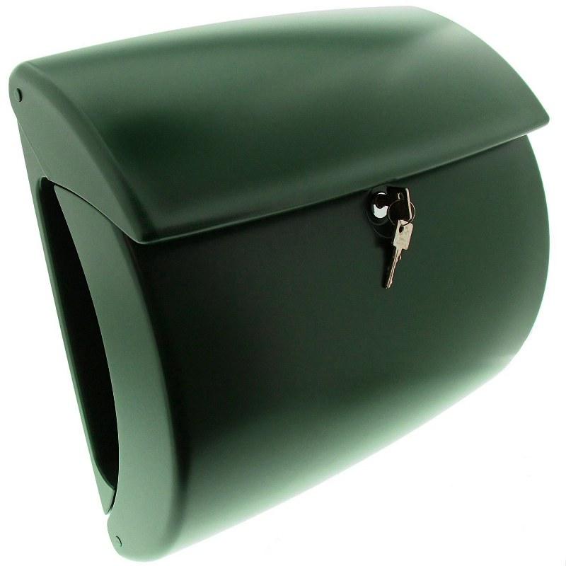 burg w chter kiel kunststof brievenbus groen. Black Bedroom Furniture Sets. Home Design Ideas