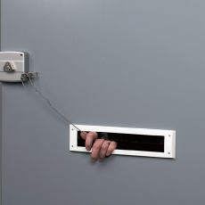 Secumax brievenbusbeveiliger - zilvergrijs