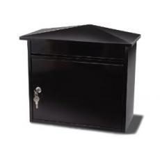 Brievenbus Mersey - zwart