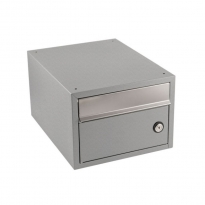 Postkastsysteem Allux Brick - verzinkt staal