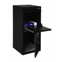 Pakketbrievenbus Logixbox Frontbox DeLuxe - zwart