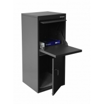Pakketbrievenbus Logixbox Frontbox DeLuxe - grijs