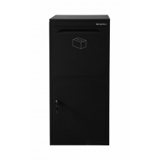 Pakketbrievenbus Logixbox Frontbox Inbouw - zwart