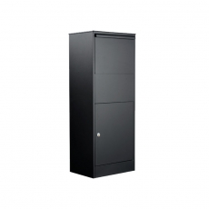 Pakketbrievenbus extra groot Allux 800L zwart