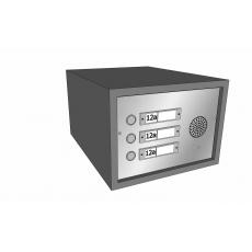 Belpaneel tbv Postkastsysteem Allux Brick