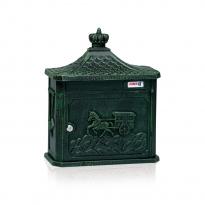 Nostalgische brievenbus Joma Garden 80 - groen
