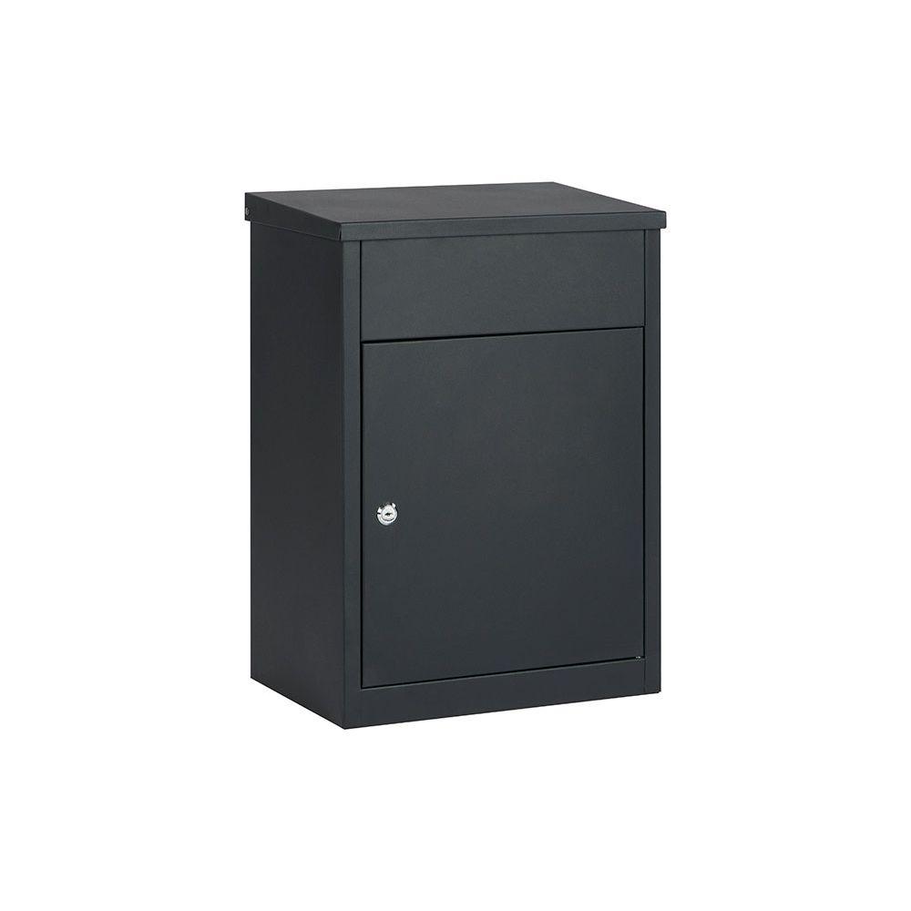 Pakketbrievenbus Edmonton - mat zwart