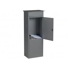 Staande brievenbus Frankfurt - mat grijs