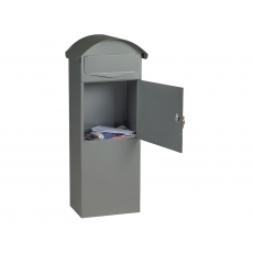 Staande brievenbus Berlin - mat grijs