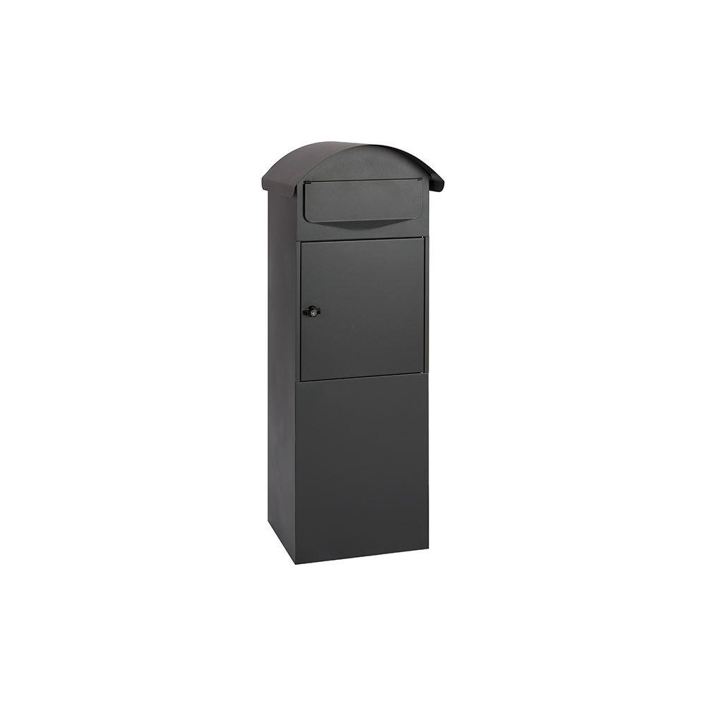 Staande brievenbus Berlin - mat zwart