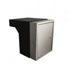 STOER! Flexibele postinbouwkast RVS 35-50cm