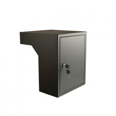 STOER! Flexibele postinbouwkast basaltgrijs 35-50cm