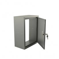 STOER! Post inbouwkast met deurtje - balsaltgrijs 165mm