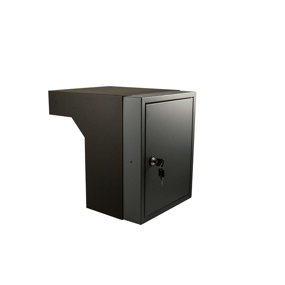 STOER! Flexibele postinbouwkast antraciet 40-55cm