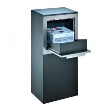 Pakketbrievenbus Logixbox RVS Designbox - grijs