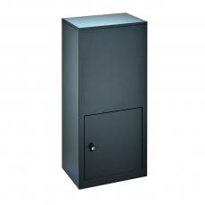 Pakketbrievenbus Logixbox RVS Designbox-Inbouw - grijs