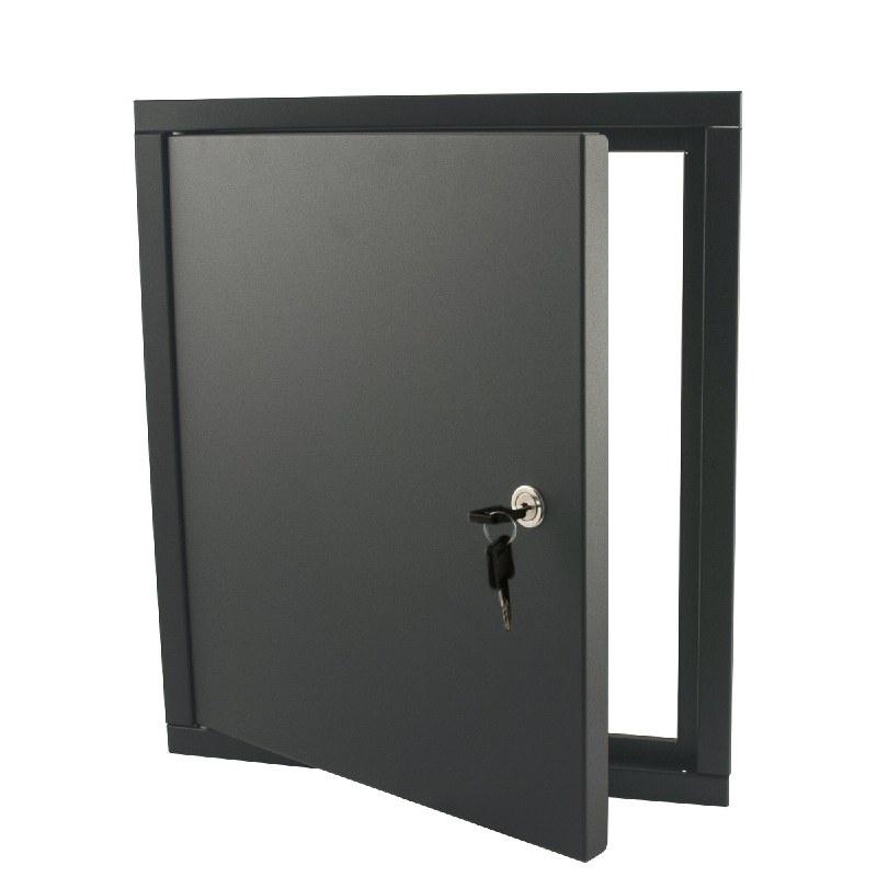 STOER! Inbouwframe met deurtje - antraciet