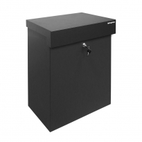 Pakketbrievenbus Logixbox Topbox-XL grijs