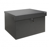 Pakketbox Logixbox Topbox-XXL grijs