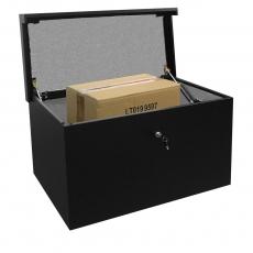 Pakketbrievenbus Logixbox Topbox-XXL zwart