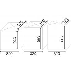 Joma Everest Mini PBox pakketbox - Donkergrijs