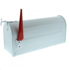 Amerikaanse brievenbus US Mailbox - aluminium wit
