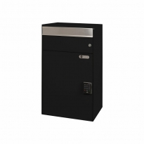 MYPO slimme pakketbrievenbus wandmodel - zwart