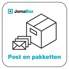 Joma K2 pakketbox met 1 brievenbus - Donkergrijs