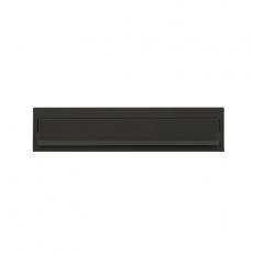 Joma briefplaat Design 330 - mat zwart
