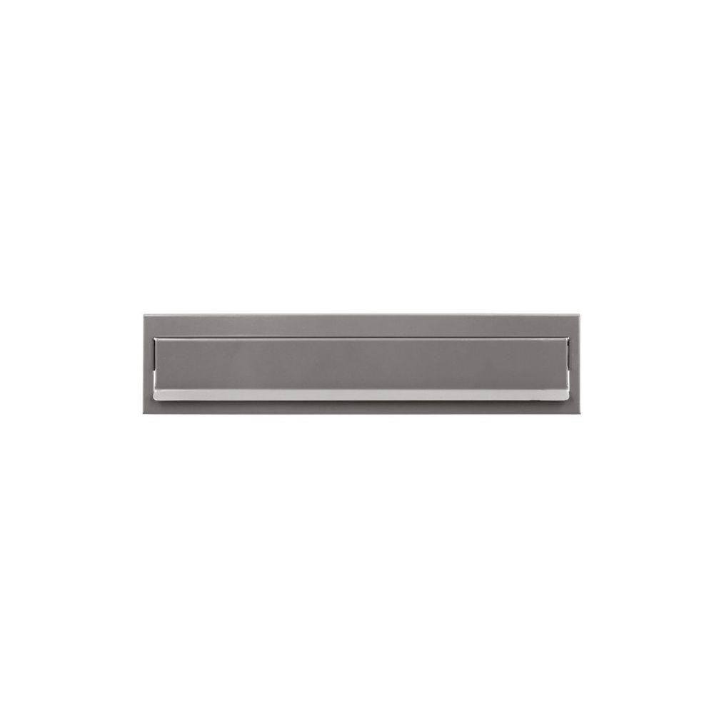 Joma briefplaat Design 330 - RVS look