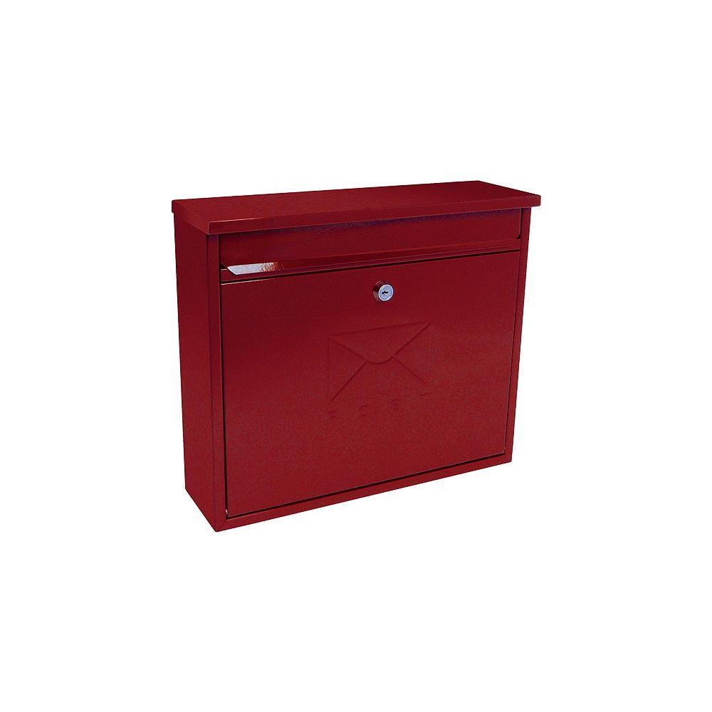 Brievenbus Elegance - rood