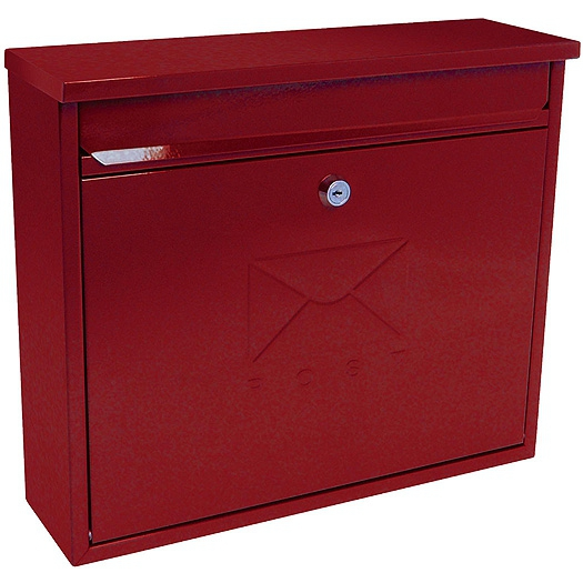 G2 The Postbox Specialists Brievenbus Elegance - rood