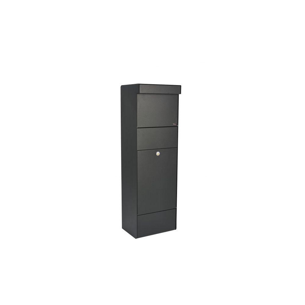 Pakketbrievenbus Allux Grundform zwart