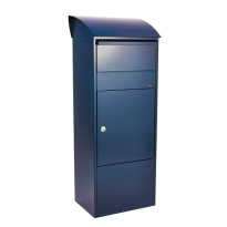 Pakketbrievenbus Allux 820 blauw