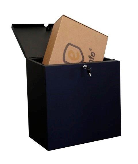 eSafe Pushbox pakketbus - zwart