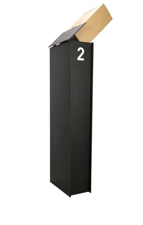eSafe Fenix Top medium pakketbrievenbus - zwart