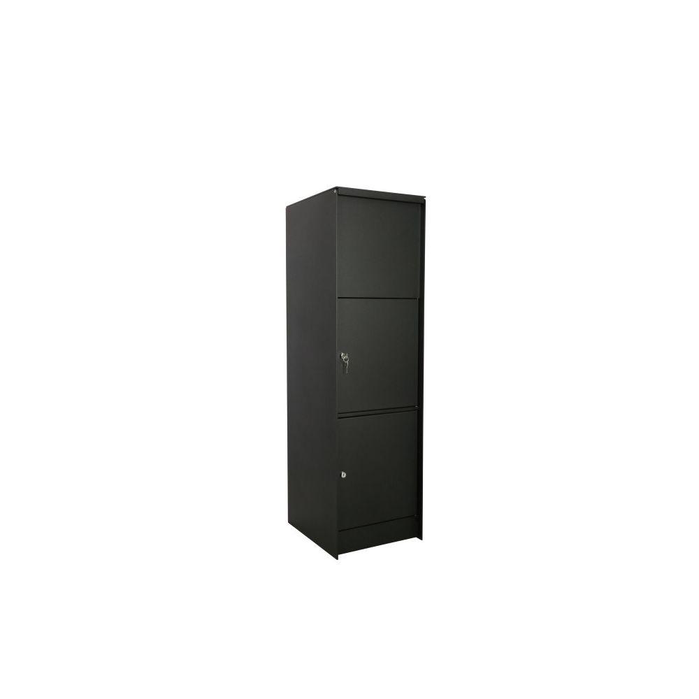 eSafe Fenix Top large pakketbrievenbus - zwart