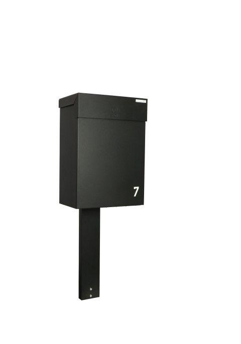 eSafe Topak Digital pakketbrievenbus - zwart