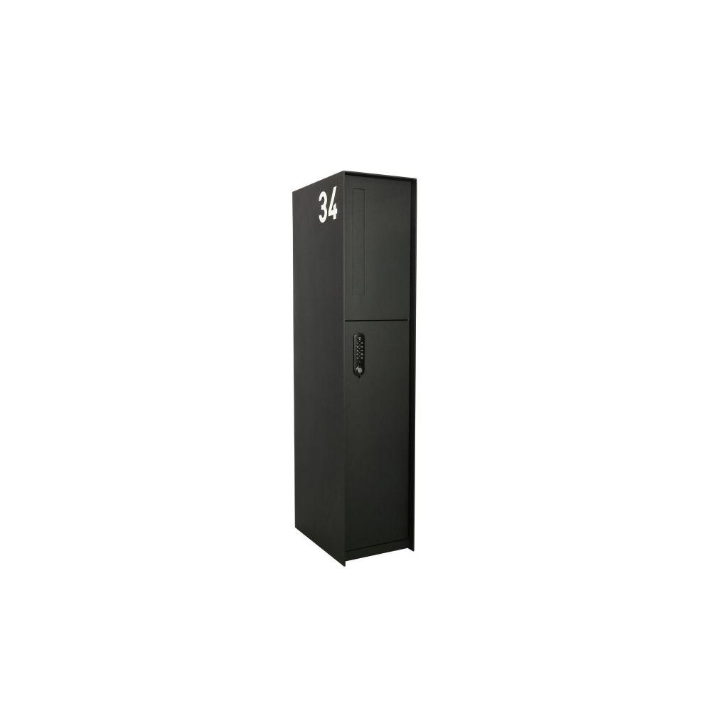 eSafe Fenix Front pakketbrievenbus - zwart