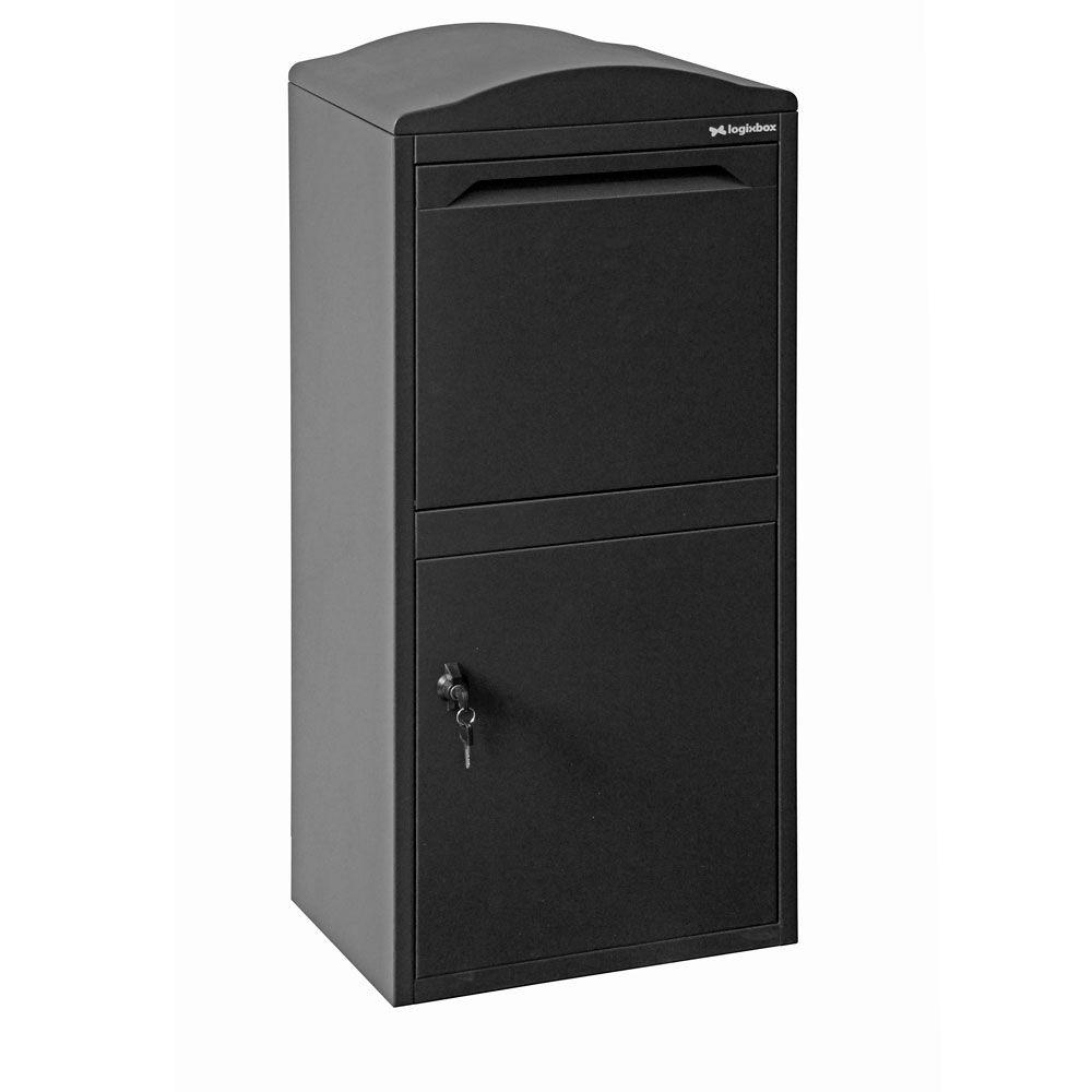Pakketbrievenbus Logixbox Frontbox Uni - grijs